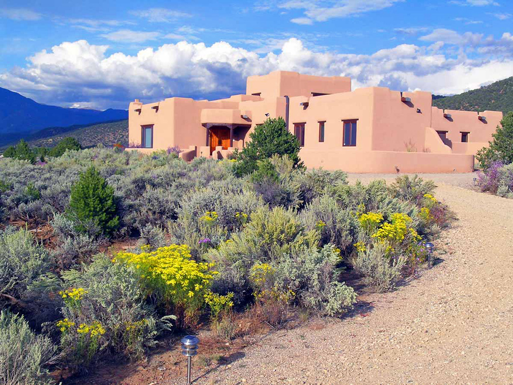 Taos exclusive dream home for sale Front