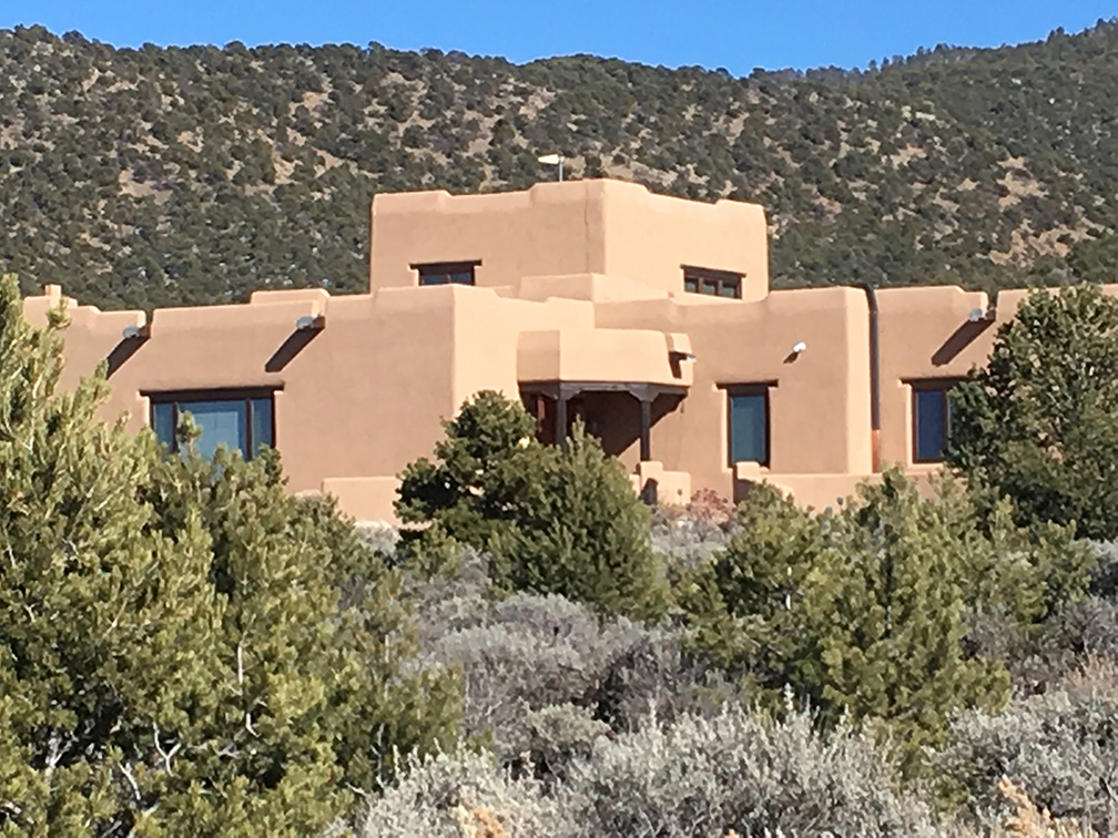 Taos exclusive dream home for sale exterior